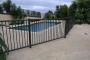 Fence Surrounding Pool