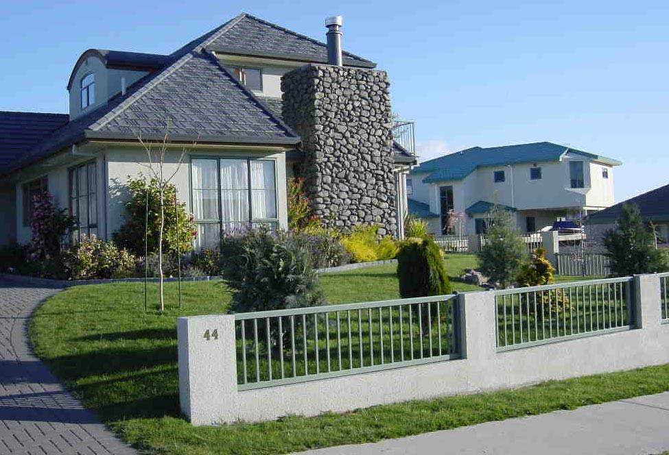 Taupo House Fence